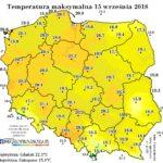 Pogodowe déjà vu, czyli ostatni tydzień z termicznym latem?