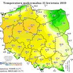 Tydzień z rosnącą temperaturą i szansami na deszcz w weekend