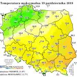 Jeszcze jeden tydzień ciepłej złotej polskiej jesieni