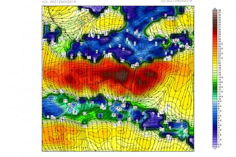 Jak porywy wiatru w polskich górach widzą modele numeryczne?