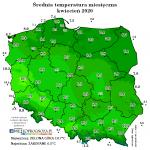 Kwiecień – sucho, słonecznie, ale bez znacznych skoków temperatury