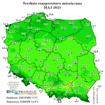 Trzeci najzimniejszy maj w XXI wieku